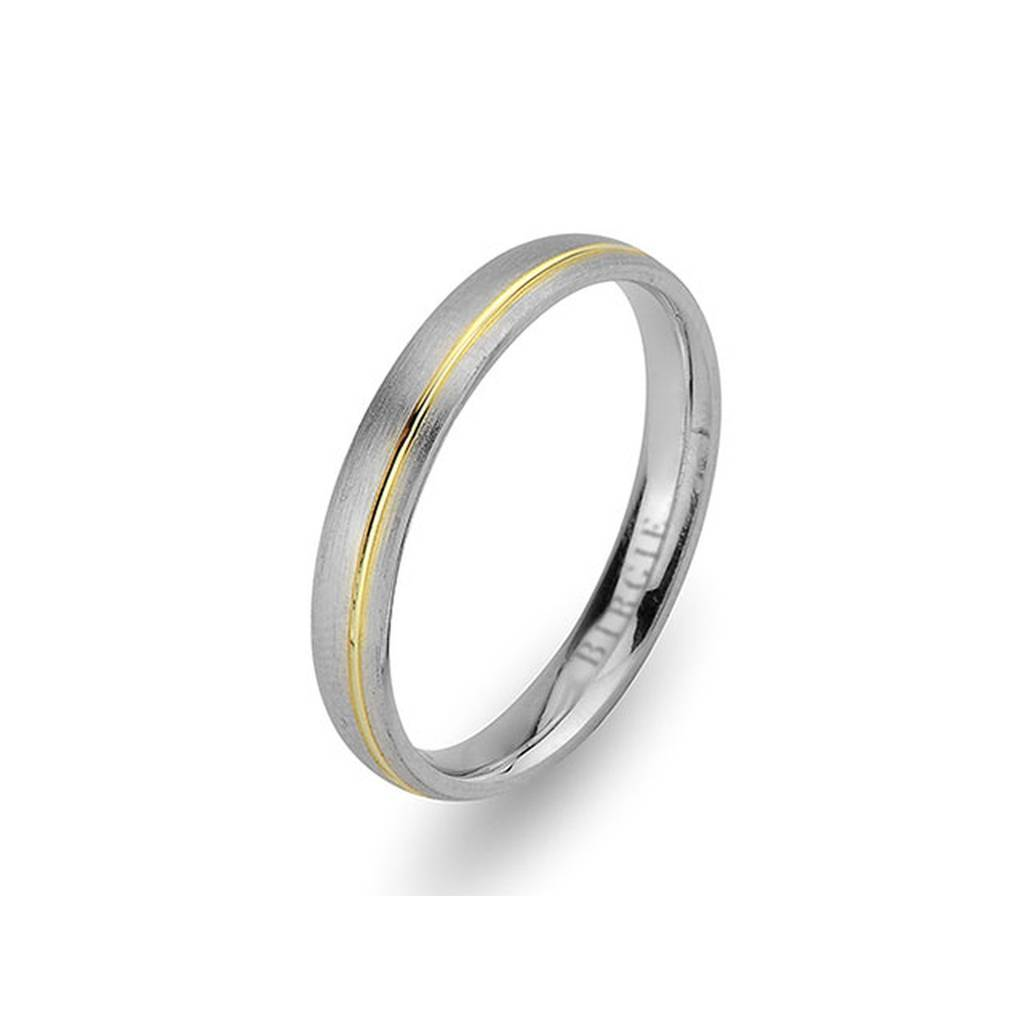 White and Yellow Gold Sazkar Wedding Band