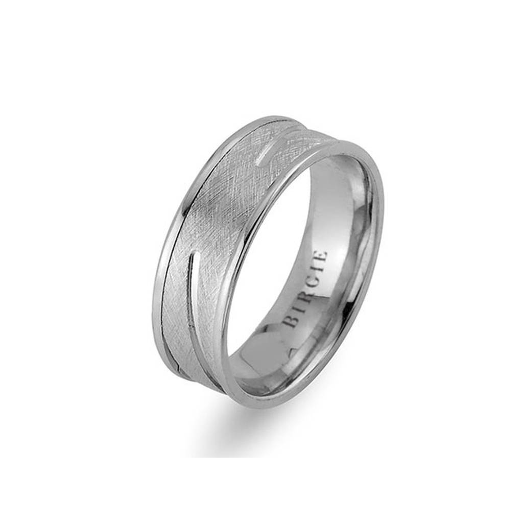 White Gold Samarkand Wedding Band