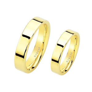 Yellow Gold Classical Wedding Band