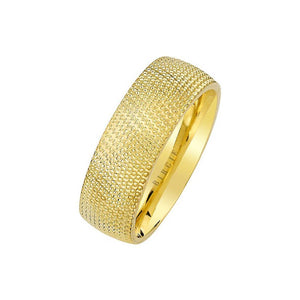 Yellow Gold Nile Wedding Band