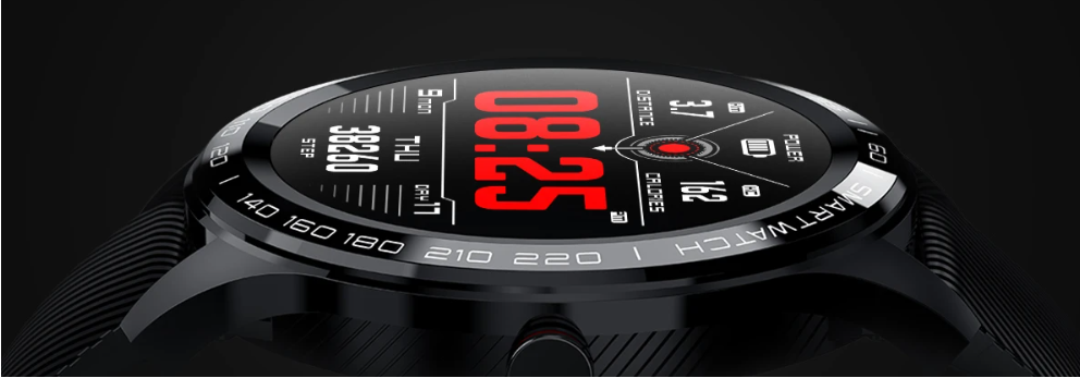 The Touchscreen Fitness Heart Rate Monitor Smart Watch