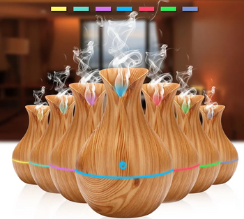 TO™ Cool Mist Electric Humidifier Oil Diffuser with an Essential Aroma