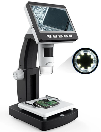 DDX™ Portable Desktop Digital Microscope with LED Lights
