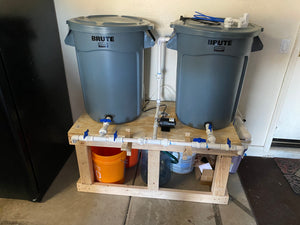 Saltwater Mixing Station Build