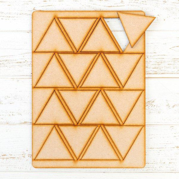 Pretty Gets Gritty - MDF Gritty Trading Shapes Triangles