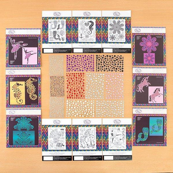 Gem It! Stamps, Dies and Gems Collection