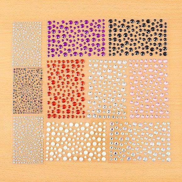 Self-Adhesive Gems - 325 & 6,8 10mm