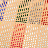 Self-Adhesive Parve Gems - Colourful