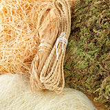 Pretty Gets Gritty - Natural Textures Kit - Moss, Straw, Rope and Stringy Things