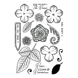 Forever Flowerz: Romantic Roses Stamp Set
