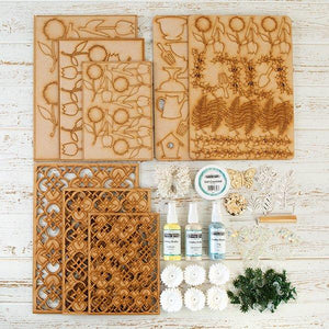 Pretty Spring Collection Kit - TRELLIS - PGG-TRELCOL