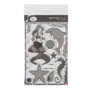 Craft Buddy Crystal Art Stamp Sets - Under the Sea - CCST9