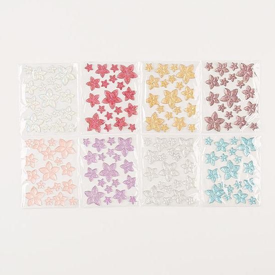 8 Packs Of Beautiful Balloon Flower Resin Gems