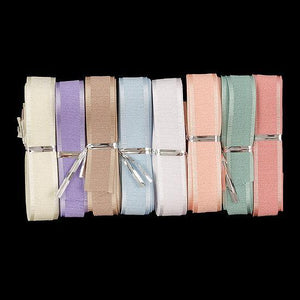 Luxury Ribbon Collection - 3m x 8 Colours - 2 OPTIONS