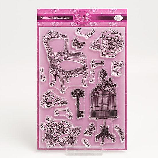 Vintage Memories Clear Stamp Set (DBS06)