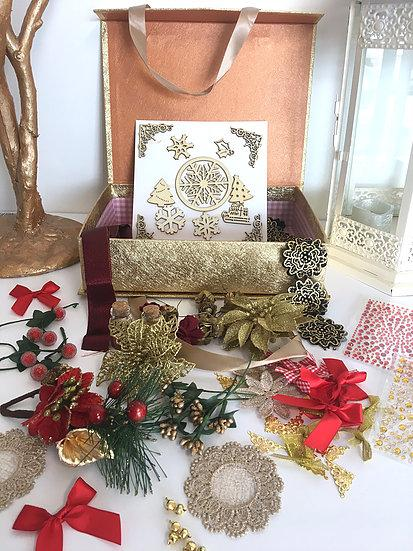 Christmas Treasure Box (available in Gold and Silver)