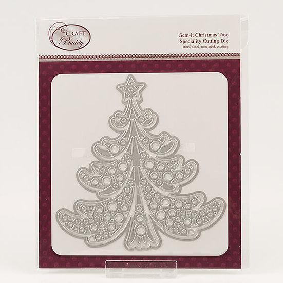 Gem It - Christmas Tree Die Set