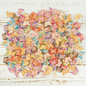 Craft Buddy Two Tone Decorative Embellishments - BUTTERFLIES - ACO-BUT200