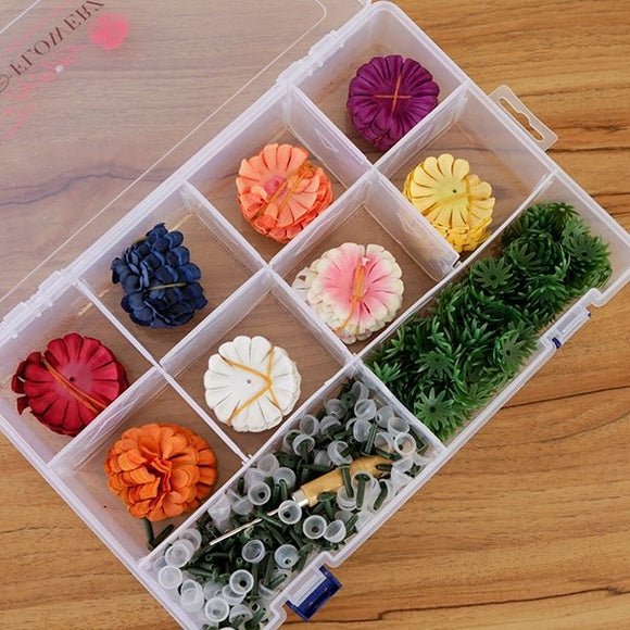 Forever Flowerz Cute Camellias Complete Collection in Storage Box - Makes approx. 240 flowers - FF01-COMP8