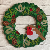 CA-WR3: 2020 Crystal Art Christmas Wreath