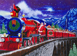 "CAK-A113XL: ""Santa Express"", 90x65cm Crystal Art Kit"