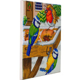 "CAK-A120M: ""Hungry Birds"" 30x30cm Crystal Art Kit"
