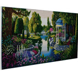 "CAK-A62: ""The Secret Garden"" Framed Crystal Art Kit, 40 x 90cm"