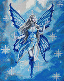 "CAK-AST2: ""Snow Fairy"" 40 x 50cm (Large) - Anne Stokes"