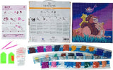 CAK-DNY701M: Lion King Family, 30x30cm Crystal Art Kit