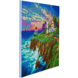 "CAK-TK4L: ""Victorian Light"""" 40x50cm Crystal Art Kit  THOMAS KINKADE"""
