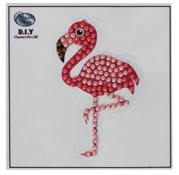 Flamingo - Crystal Art Motifs (With Tools)