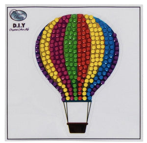 Hot Air Balloon - Crystal Art Motifs (With Tools)