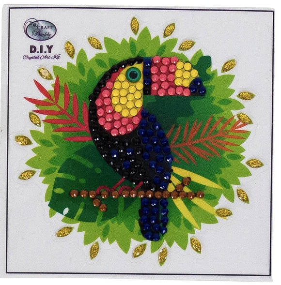 Toucan - Crystal Art Motifs (With Tools)