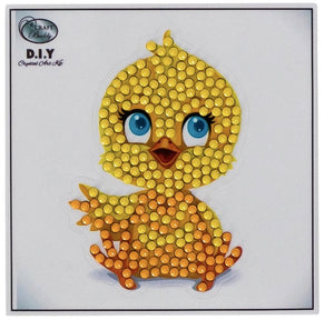 Cutie Chick - Crystal Art Motifs (With Tools)