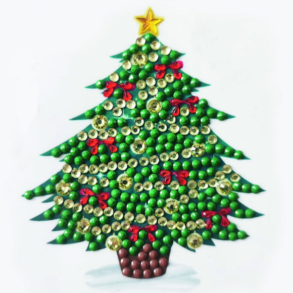 Oh Christmas Tree, 9x9xm Crystal Art Motif- CAMK-62