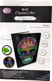 "CANJ-4 ""Skull"" Crystal Art Notebook Kit, 26 x 18cm"