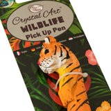 Tiger Wildlife Crystal Pick-Up Pen, 18cm