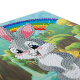 "CCK-A24: ""Rabbit Wonderland"" Crystal Card Kit"