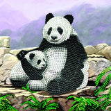 "CCK-A44 ""Panda"" Crystal Art Card Kit"