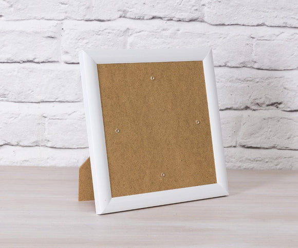 CCKF18-1 Crystal Art Card Frame - White