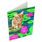 "CCKXL-5 ""Lily's Pond"" Giant Crystal Art Card Kit"