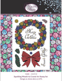 CCST14: Craft Buddy Sparkling Wreath A5 Crystal Art Stamp Set
