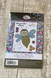CCST23: Craft Buddy Buzzing Bee Crystal Art A6 Stamp Set