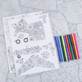 P3D-SKT1: Craft Buddy 3D Colour Me Puzzle Kits - Starter Kit 1