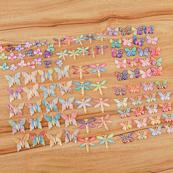 CB-ACR120: Craft Buddy 120 Assorted Enchanted Embellishments