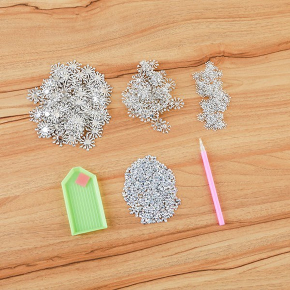 Craft Buddy 300 Metal Flower Stamens with Crystal Chatons and tools