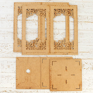 Craft Buddy Ornate MDF Lantern - FDPO-083