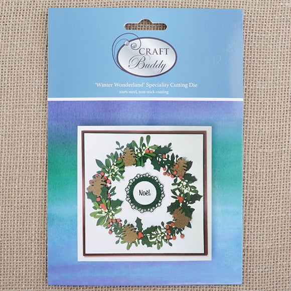 CBD36: Craft Buddy Winter Wonderland Embellishments Die Set
