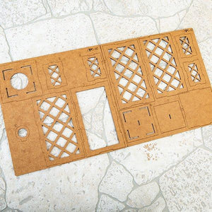 Craft Buddy MDF Trellis Lantern set of 2