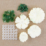 Forever Flowerz Decadent Dahlias Flower Making Kits - Makes Approx. 20 Dahlias VARIANTS AVAILABLE